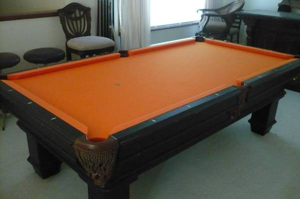 pool table coloring pages - photo#47