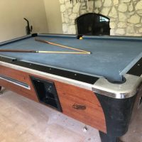 8' Dynamo Coin Operated Pool Table
