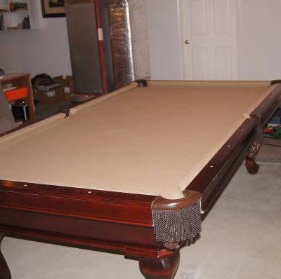 Billiard Full Size Pool Table