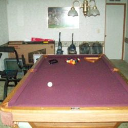 Brunswick Clawfoot 8' Foot Regulation Pool Table