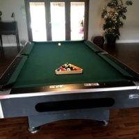 Beautiful Solid Slate Pool Table