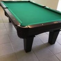 Really Nice Pool Table and Cove and Sticks