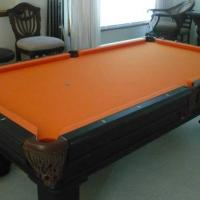 8' UT Color Themed Pool Table