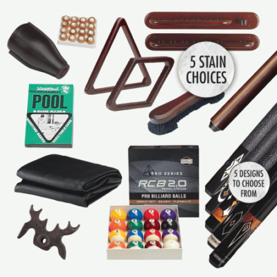 New Billiard Accessory Kits for Sale